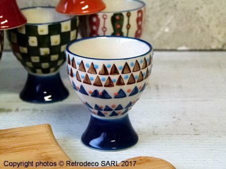 Ceramic egg cup Paragon (ref.5), Chehoma