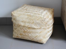 Small bamboo box, natural style, Athezza