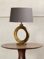 Antique gold round light Lorentz Chehoma