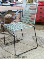 grey rattan battan chair Chehoma