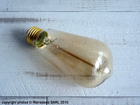 Conical decorative bulb