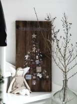 Wooden sign Merry Christmas Ib Laursen
