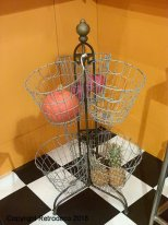 Metal dispay stand 6 baskets Chehoma