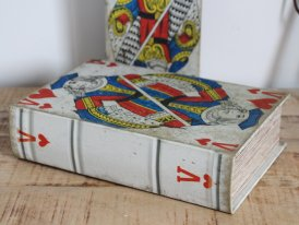 Book case Jake of Hearts, antique style, Antic Line