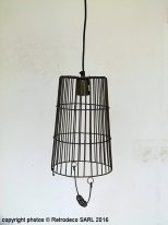 Suspension Ancona bronze antique, déco atelier, Light & Living