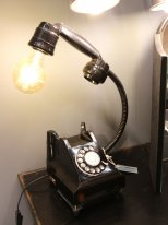 Phone light Mister Bell, retro style, Chehoma