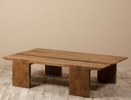 Mango low table, country style, Chehoma