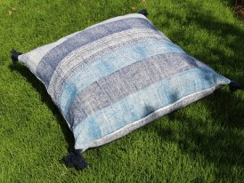 Blue floor cushion Anhad