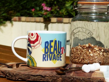 Mug Beau Rivage, déco fifties, Natives Deco