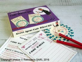 Spy set codebreaker, Rex International