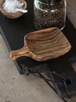 Small tapas bowl oiled accacia wood, natural style, Ib Laursen