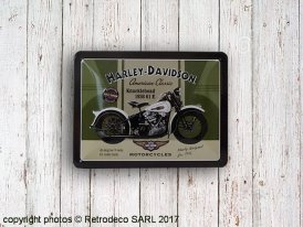 Small metal sign Harley Davidson American Classic, Nostalgic Art