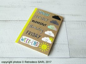 Carnet Week-end, Corinne Demuynck, Cartes d'Art
