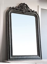 Large mirror green antique, antique style, Chehoma
