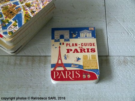 Carnet mémo Paris (réf.1), déco vintage, Cavallini and Co