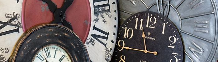 Wall decor Clock Retrodeco