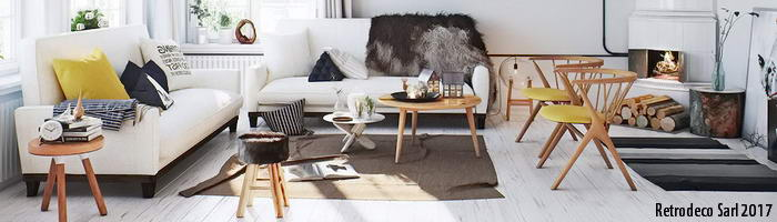 Scandinavian Decor Retrodeco