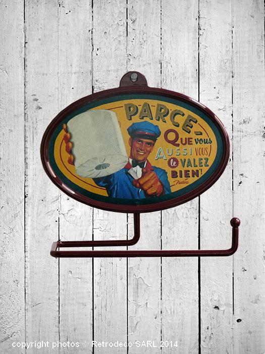 D vidoir de papier toilette vous le valez d co vintage - Toilette retro ...