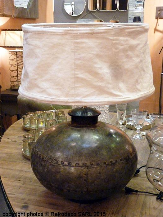 lampe jarre ancienne d co ethnique chic chehoma 17407. Black Bedroom Furniture Sets. Home Design Ideas