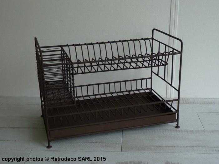 egouttoir double niveaux porte couverts antique antic line seb14106. Black Bedroom Furniture Sets. Home Design Ideas