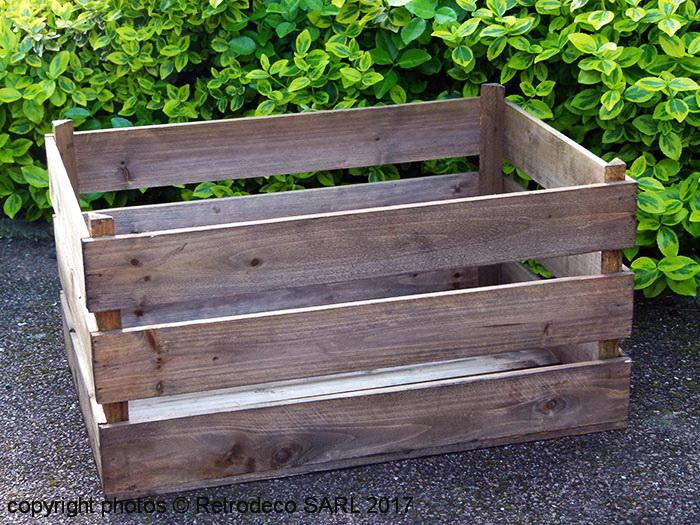 deco caisse bois fabulous with deco caisse bois photos vivastreet dcoration agencement de. Black Bedroom Furniture Sets. Home Design Ideas