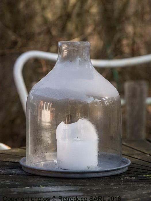 Cloche de jardin en verre d co campagne ib laursen 8540 00 - Cloche en verre jardin ...