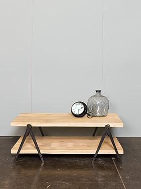 table compas bois brut d co atelier chehoma 17276. Black Bedroom Furniture Sets. Home Design Ideas