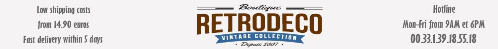 Retrodeco : Vintage, Factory, Shabby, Nordic, Country Chic styles